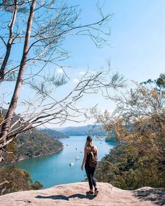 Gorgeous sunny day in Sydney, so we headed out to Ku-Ring-Gai Chase National Park for a hike with some beautiful views 🍃 Hello America, Mermaid Pool, Rock Pools, Swimming Holes, Weekend Fun, Top Of The World, Day Trips, Kayaking, Sydney