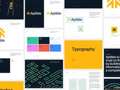 Aptible Brand Guidelines by JT Grauke for Focus Lab on Dribbble