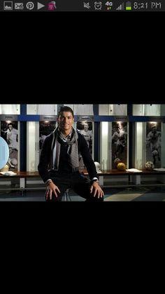 Cristiano Ronaldo! Major inspiration!
