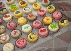 macarons decorados - Fotos bodas.net