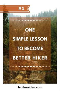 This one simple lesson will make you a better hiker - more aware, prepared and always safely coming back from your hiking adventures. It's so obvious you will be surprised! Click >> READ IT << to check it out! Hiking Checklist, Hiking Tips, Camping And Hiking, Hiking Gear, Family Camping, Outdoor Survival, Outdoor Camping, Outdoor Life, Backpacking For Beginners