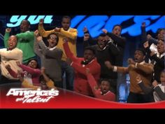 The Virginia State University Gospel Choir Testify With Their Talent - America's Got Talent - YouTube