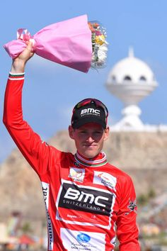 8th Tour of Oman 2017 / Stage 6 Podium / Ben HERMANS Red Leader Jersey/ Celebration / The Wave Muscat Matrah Corniche /