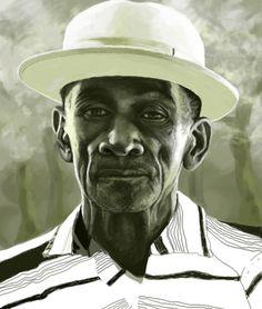 Delta Blues singer Mance Lipscomb.