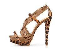 sandalia animal print soo cool!!!!!!!!!!