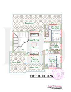Delightful 2715 Square Feet House With Full Sketch Floor Plan By Green Homes,  Thiruvalla U0026 Cochin, Kerala.