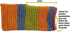 pantuflas tejiendoperu.com Knitting Socks, Knitting Stitches, Knitted Slippers, Knitted Hats, Dyi Crafts, Arts And Crafts, Messenger Bag Patterns, Baby Patterns, Crochet Yarn