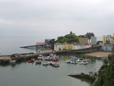 Fishguard, Wales and the ferry to Rosslare, Ireland.
