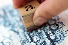 Stamping Technique | The Big Picture Art Project | Sandrine Pelissier | Artists Network