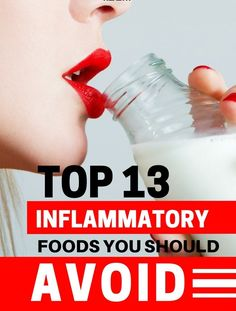 Top 13 Inflammatory Foods You Should Avoid   Healthy Food Style