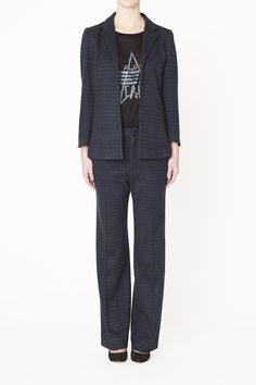 Blazer set with t-shirt from Ganni 2014 A/W collection