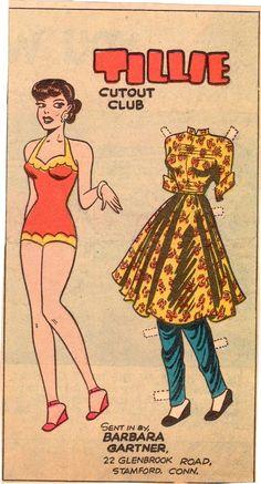paper dolls 1947 - Google-søk