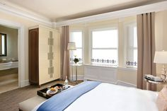 Superior room features a queen size bed, large desk and complimentary Wi-Fi