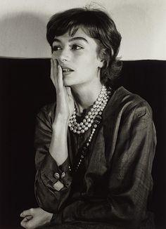 Anouk Aimée, Paris, 1962 (Gisèle Freund)