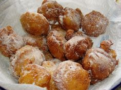 Frittelle di Riso Recipe - Tuscany I do remember eating these!