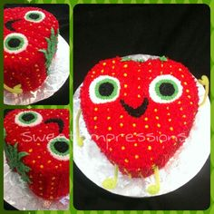 Berry cake from Cloudy with a chance of meatballs 2