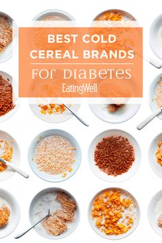Cold cereal is a quick and convenient breakfast option that can be part of a healthful, diabetes-friendly diet when you know what kind to buy. Best Breakfast Cereal, Best Cereal, Balanced Breakfast, Breakfast Options, Diabetic Recipes, Healthy Recipes, Diabetic Foods, Diabetic Breakfast Recipes, Healthy Breakfasts