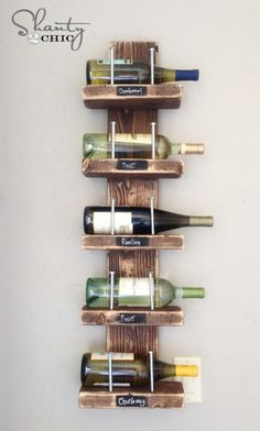 DIY Wooden Wine Storage!