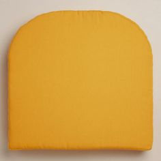 One of my favorite discoveries at WorldMarket.com: Yellow Gusset Chair Cushion