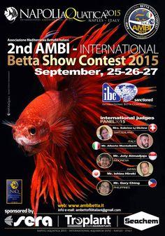 2ND Ambi International Betta Show Contest - Ambi Betta - Italia Mediterranea