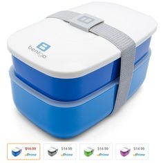 Bentgo All-in-One Stackable Lunch/Bento Box Only $7.49!! (Reg $17.99) - http://couponingforfreebies.com/bentgo-one-stackable-lunchbento-box-7-49-reg-17-99/
