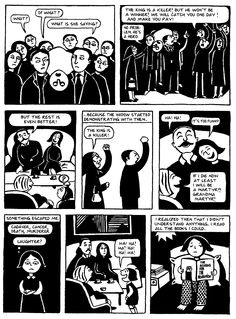 students an excerpt from marjane satrapi s graphic novel  persepolis excerpt pt 7 art essay