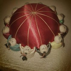 antique pin cushion...more than 20 years old.