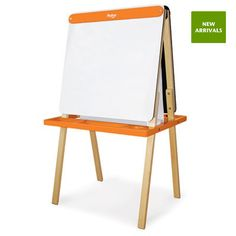 P'Kolino Little One's Easel ~ Orange ~ Includes paper roll & chalk >> furniture for funky tots available from our client @ganderkids