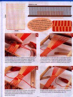 Wuitral Kapen Inkle Loom, Loom Weaving, Tablet Weaving, Weaving Techniques, Loom Knitting, Rug Hooking, Textile Art, Clothes Hanger, Textiles
