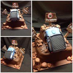 4WD drive cake