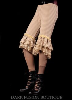 Lace Trim Bloomers