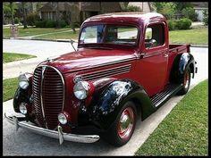1938 Ford Pick-Up #fordvintagecars
