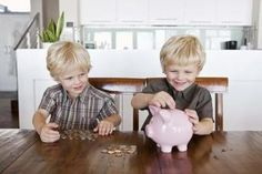Object lesson to teach even young children how to tithe and give offerings.