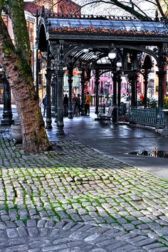 The Pergola in Pioneer Square   Seattle, Washington  //by David Patterson