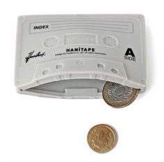 Fun coin keeper. #geek #retro #music #casette #tapes