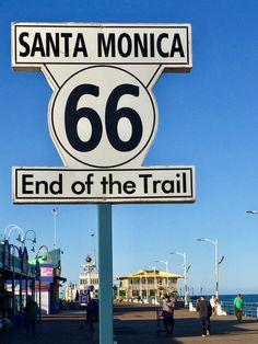 Santa Monica, End of Trail.