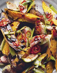 Patates douces rôties et figues fraîches pour 4 personnes - Recettes Elle à Table