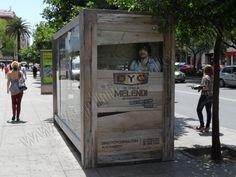 Mobiliario Urbano Espectacular | SP Integrales Instalación publicitaria en marquesina de autobús
