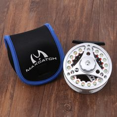 High Quality Aluminum Fly Fishing Reel With Line Combo #flyfishingreels