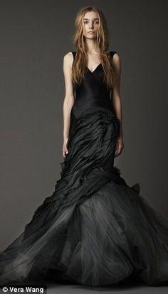 The Corpse Bride: Vera Wang Spring Summer 2012 BridalCollection