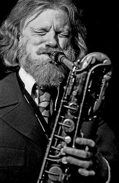 Gerry Mulligan - Jazz baritone saxophonist (saw this guy in Brisbane once. Brilliant).