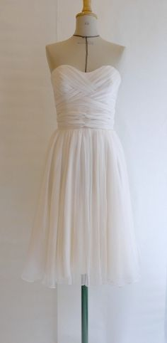 I adore this- always wanted a short dress