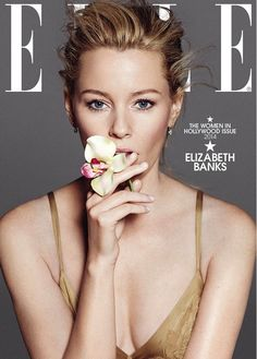 elizabeth banks jessica lange elle women in hollywood covers 03 Elizabeth Banks shows off her beautiful blue eyes on the cover of Elle magazine's Women in Hollywood issue, out on newsstands on Tuesday (October The Olivia De Havilland, Elizabeth Banks Pitch Perfect, Women 40 Years Old, Paola Kudacki, Annette Bening, Beautiful Blue Eyes, Elle Magazine, Magazine Covers, Zoe Saldana