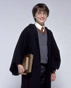 Voici Daniel Radcliffe (Harry Potter) en 2001, pour Harry Potter à l'école des sorciers