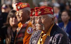 """Native American Code Talker Heroes - """"You've probably heard of the famous Navajo Code Talkers of WWII, who contributed immeasurably to US intelligence by using their own language as an encryption tool. You may not, however, have heard of their predecessors: the Choctaw soldiers who distinguished themselves with coded transmissions in their native language in WWI. This little slice of American history is shockingly obscure, so spread it around and make sure these brave men aren't forgotten."""""""