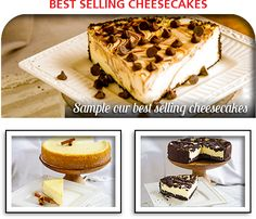 Mrs. Pose's Best Selling Cheesecakes Order Cheesecakes Online from PoseBakery.com Marble Chocolate, Apple Crumb, Cookies And Cream, Cheesecakes, Waffles, Cherry, Pumpkin, Poses, Breakfast