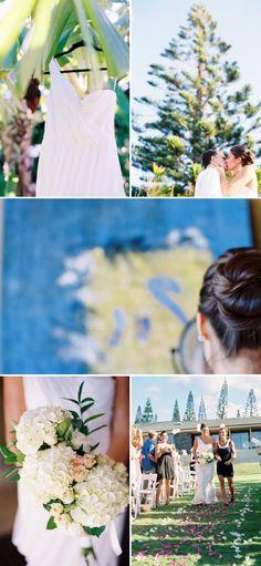 Maui Wedding at the Kapalua Resort