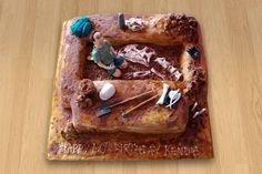 Archaeology or paleontology Cake! FABULOUS....This is next in my baking list!!