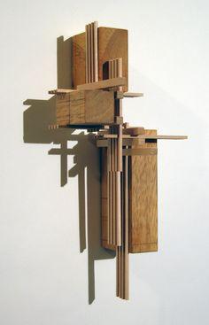 """Construction 19, """"Contrapposto"""" by Maciek Jozefowicz, via Behance"""