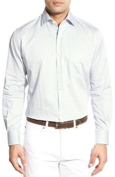 Peter Millar Regular Fit Stripe Sport Shirt. #petermillar #cloth #